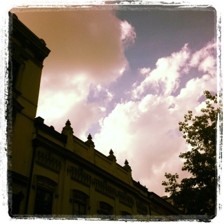 clouds approaching