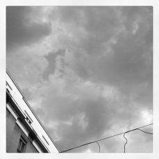 cloud and wires